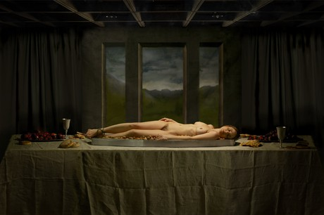 "Nicola Costantino, ""Still Life/The Dinner"", 2008"