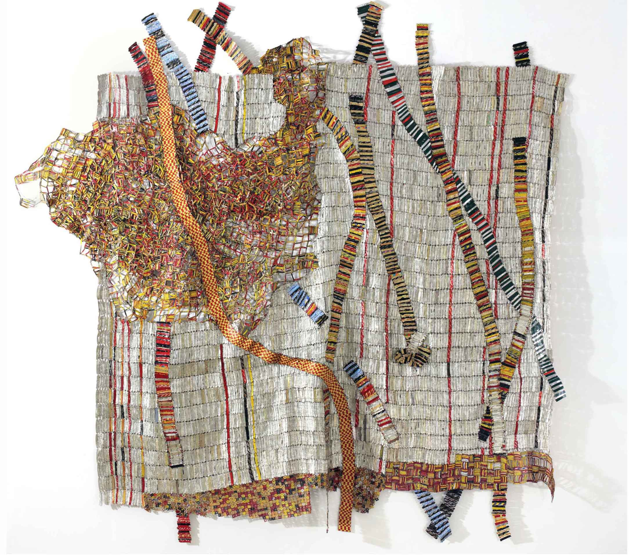 El Anatsui, Earth Developing More Roots