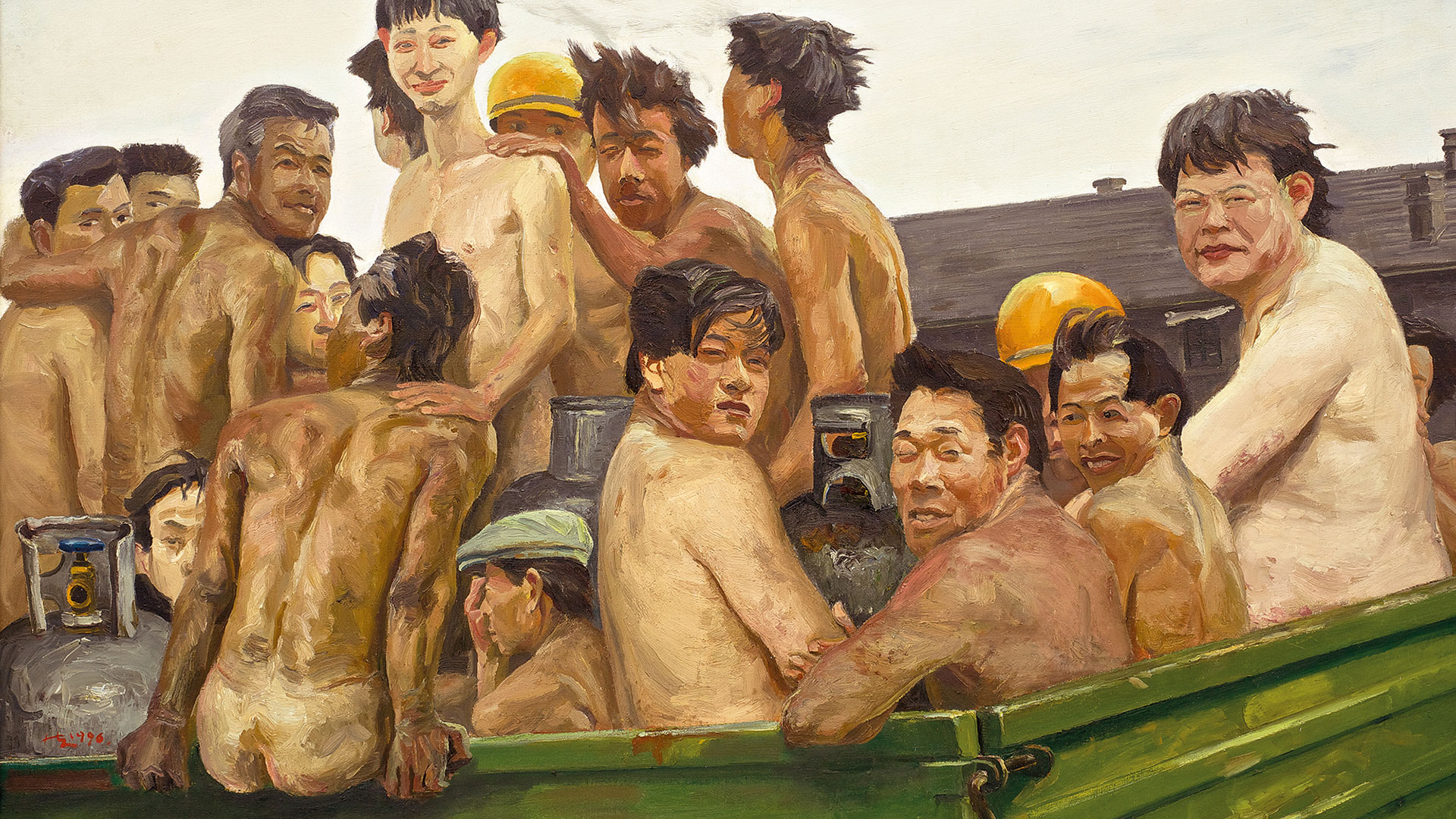 Liu Xiaodong, 'Disobeying the Rules', 1996