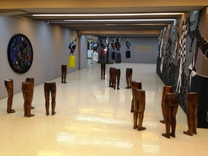 Tapay's solo exhibition at Ateneo Art Museum, Philippines