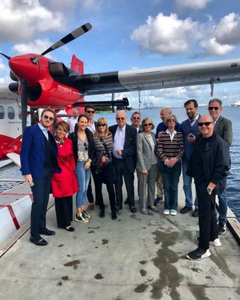 Excursion to Aros museum on board this seaplane